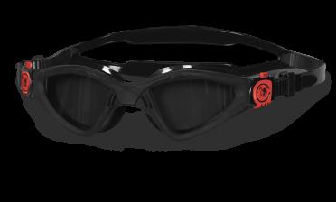 BTTLNS Archonei 1.0 getinte lens zwembril zwart/rood