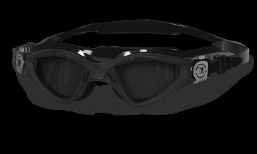 BTTLNS Archonei 1.0 getinte lens zwembril zwart/zilver