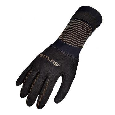 BTTLNS Neopreen zwemhandschoenen Boreas 1.0 zwart/goud