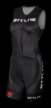 BTTLNS Rapine 2.0 trisuit mouwloos zwart dames