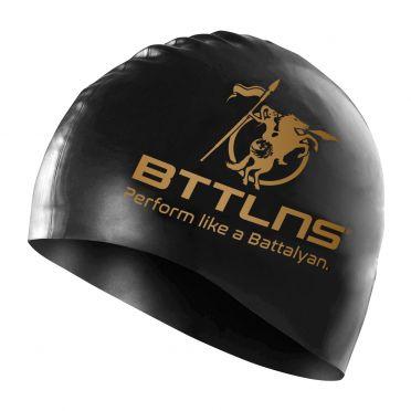 BTTLNS Absorber 2.0 siliconen badmuts zwart/goud