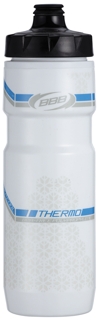 BBB Thermotank bidon 500ML wit/blauw BWB-51