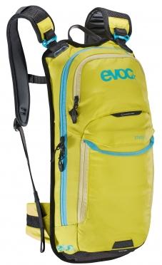 Evoc Stage 6L + 2L bladder rugzak geel