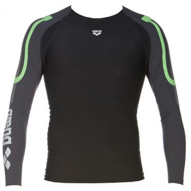 Arena Carbon Compression long sleeve zwemshirt heren