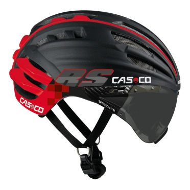 Casco SPEEDairo RS Fietshelm zwart/rood