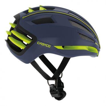 Casco SPEEDairo 2 fietshelm blauw/geel