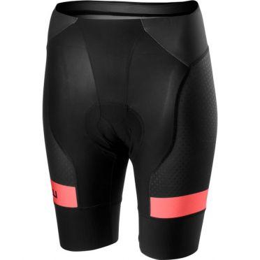 Castelli Free aero race 4 W short zwart/roze dames