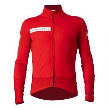 Castelli Beta RoS fietsjack rood heren
