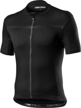 Castelli classifica fietsshirt korte mouw zwart heren