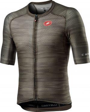 Castelli Climber's 3.0 SL korte mouw fietsshirt donkergroen heren
