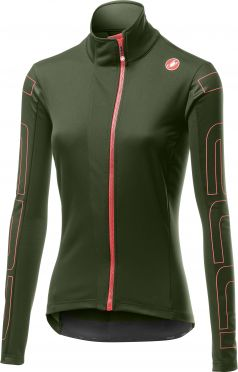 Castelli Transition 2 W fietsjack groen dames