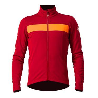 Castelli Raddoppia 3 fietsjack rood heren