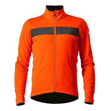 Castelli Raddoppia 3 fietsjack oranje heren