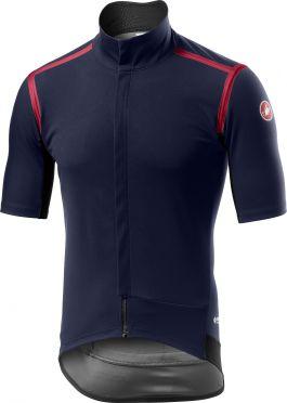 Castelli Gabba RoS fietsshirt korte mouw blauw heren