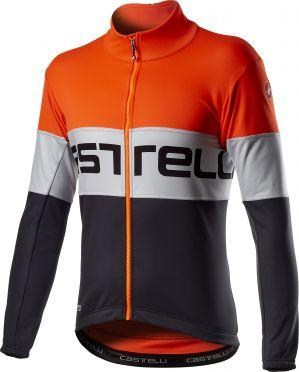 Castelli Prologo fietsjack oranje heren