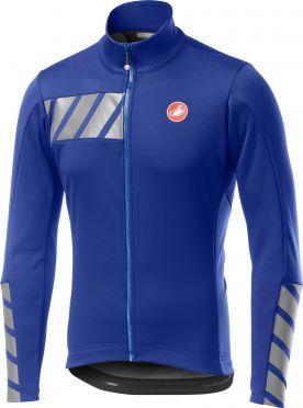 Castelli Raddoppia 2 fietsjack blauw heren