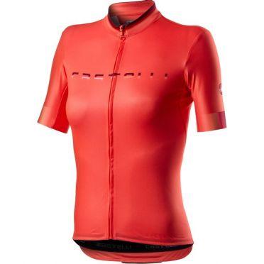 Castelli Gradient fietsshirt roze dames