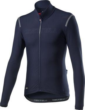 Castelli tutto nano RoS fietsshirt lange mouw blauw heren
