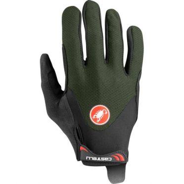 Castelli Arenberg gel LF handschoen groen heren