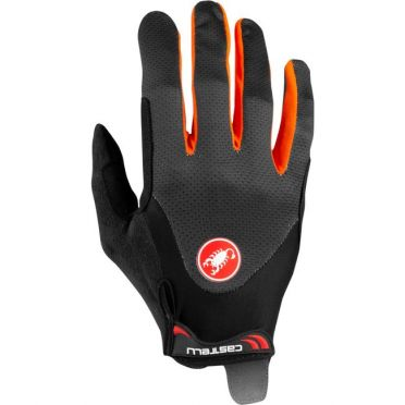Castelli Arenberg gel LF handschoen oranje heren
