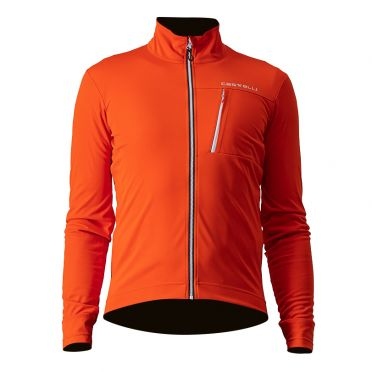 Castelli GO fietsjack oranje heren