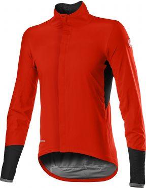 Castelli Gavia fietsjack rood heren