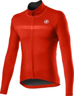Castelli Goccia fietsjack rood heren