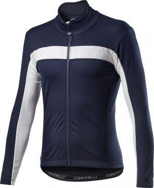 Castelli Motrirolo VI fietsjack blauw heren
