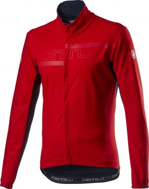 Castelli Transition 2 fietsjack rood heren