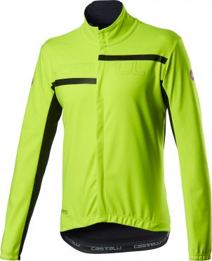 Castelli Transition 2 fietsjack geel heren