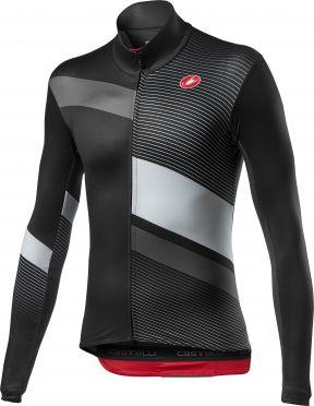 Castelli MId Thermal Pro LS fietsshirt lange mouw zwart heren