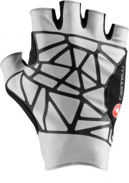 Castelli Icon Race handschoenen zilvergrijs heren