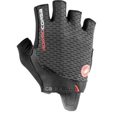 Castelli Rosso Corsa Pro V handschoen donkergrijs heren