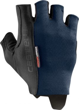 Castelli Rosso Corsa Espresso handschoen savile blauw heren