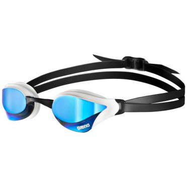 Arena Cobra Core mirror zwembril blauw/wit
