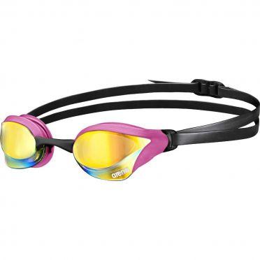 Arena Cobra Core mirror zwembril revo/roze