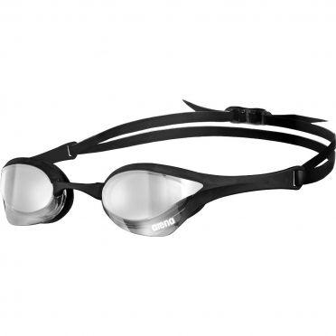 Arena Cobra Ultra mirror zwembril zilver/zwart