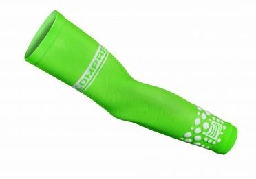 Compressport Armforce compressiemouwen groen