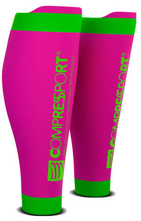 Compressport R2 v2 compressie tubes roze