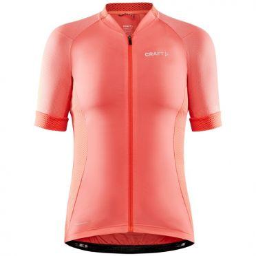 Craft Advanced Endurance Lumen fietsshirt SS roze dames