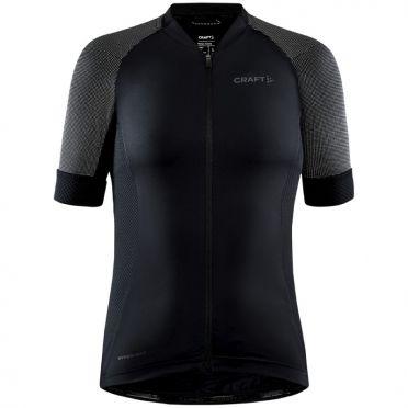 Craft Advanced Endurance Lumen fietsshirt SS zwart dames