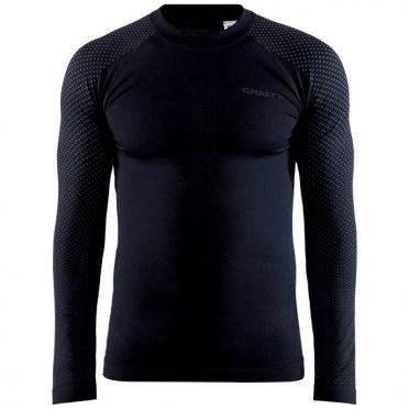 Craft Advanced Warm Fuseknit Intensity ondershirt lange mouw zwart heren