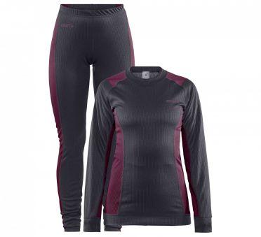 Craft Core Dry thermo onderkleding set grijs dames