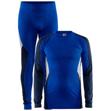 Craft Core Dry thermo onderkleding set blauw heren