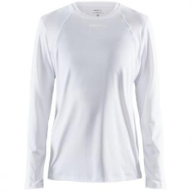 Craft Essence slim hardloopshirt LS wit dames