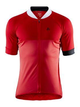 Craft Adopt fietsshirt rood heren