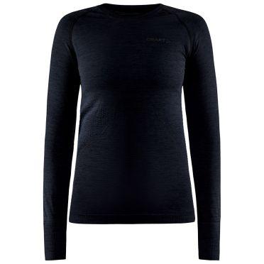 Craft Core Dry Active Comfort Lange mouwen zwart dames