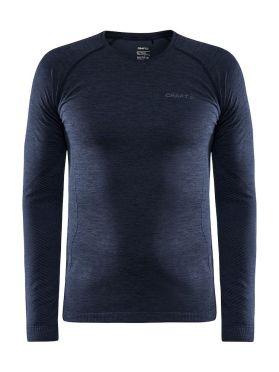 Craft Core Dry Active Comfort lange mouw ondershirt blauw heren