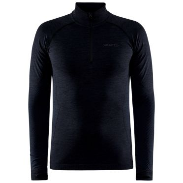 Craft Core Dry Active Comfort trui half zip zwart heren