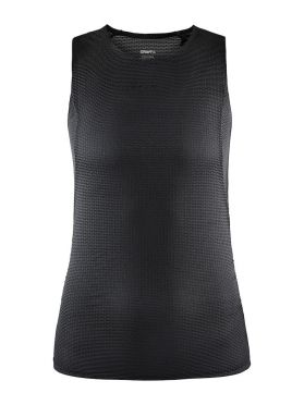 Craft Pro Dry Nanoweight mouwloos ondershirt zwart dames